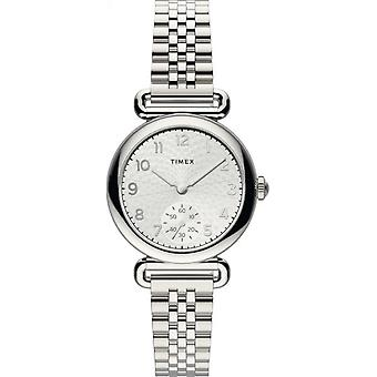 Timex TW2T88800 Modell 23 Silber Ton Armbanduhr