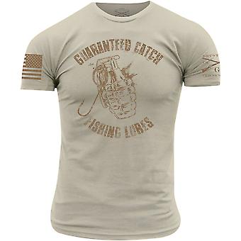 Grunt Style Guaranteed Catch T-Shirt - Off White