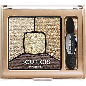 2 x Bourjois Paris Smoky povestiri Quad fard de pleoape paletă 3.2 g-16 I Gold it