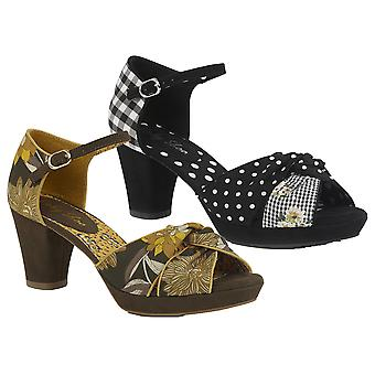 Ruby Shoo Women's Xanthe Peeptoe Chunky Sandal