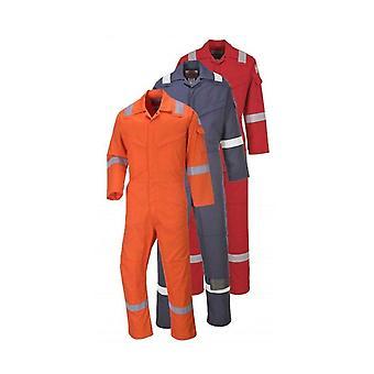 Portwest aberdeen sikkerhet flammehemmende arbeidsklær coverall ff50