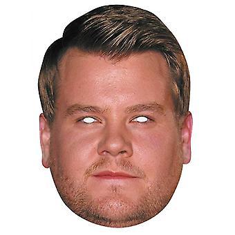 ジェームズコーデンセレブ2Dシングルカードパーティーファンシードレスマスク