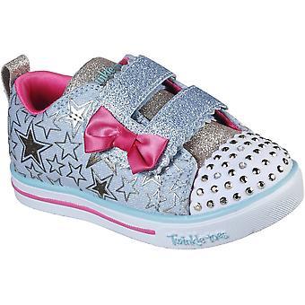 Skechers Mädchen funkeln Lite Sterne So hell Leuchten Schuhe