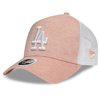 New Era Damen Trucker Cap - JERSEY Los Angeles Dodgers rosa