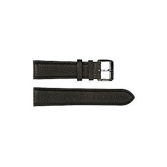 Authentic hugo boss watch strap black leather buffalo 22mm hb8813422721