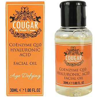 Cougar Co-Enzyme Q10 Facial Oil with Hyaluronic Acid