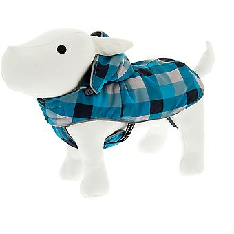 Ferribiella Blue Hooded Snowboard Coat (Dogs , Dog Clothes , Coats and capes)