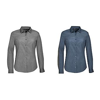 SOLS Womens/Ladies Barnet Long Sleeve Button Down Shirt