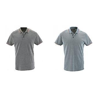 Camisa de Polo de piqué de Heather de SOLS hombres Paname