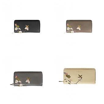 Fable Womens/Ladies Blossom Embroidered Long Purse