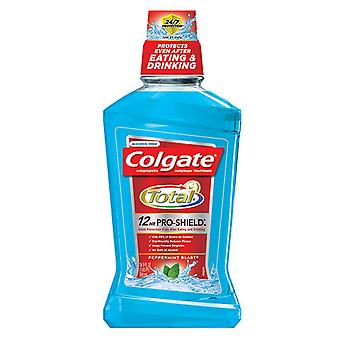 Colgate total advanced pro-shield mouthwash, peppermint blast, 16.9 oz