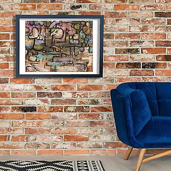 Paul Klee - After The Flood Poster Print Giclee