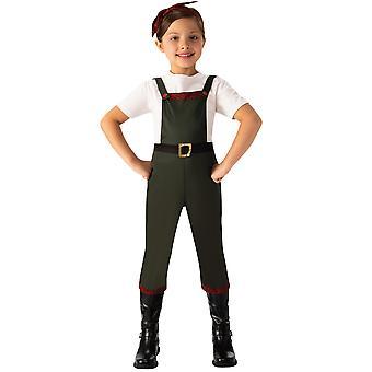 Bristol Novelty Girls Land Girl Costume