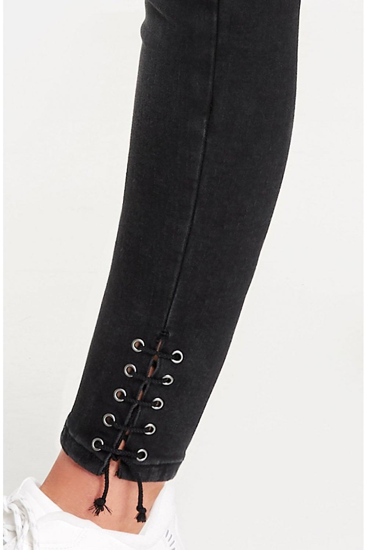 Taifun Washed Black Skinny Jeans PpwecJ