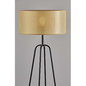"13"" X 13"" X 25"" Bronzen Shade Tafellamp"