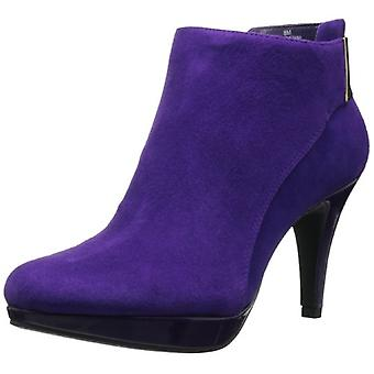 Bandolino Womens Christana Leather Almond Toe Ankle Fashion Boots
