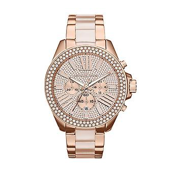 Michael dameshorloge Kors MK6096 Wren Rose Gold Chronograph