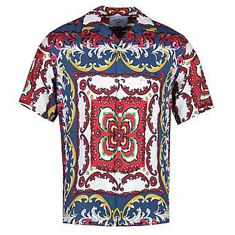 Portuguese Flannel 90's Power Print Short Sleeve Shirt