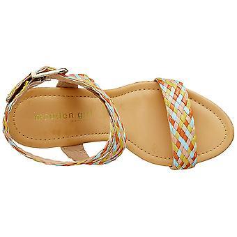 Madden Girl Women's Shoes Narla Open Toe Casual Espadrille Sandales