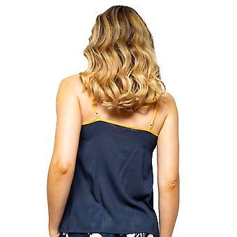 Cyberjammies Alexa 4509 Femmes-apos;s Navy Blue Modal Cami Pyjama Top