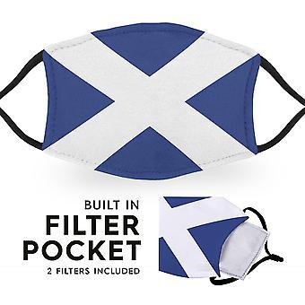 Skotlannin lippu - Lasten Kasvonaamiot