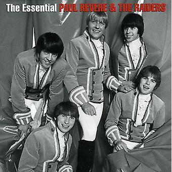 Importación de Paul Revere & Raiders - esencial Paul Revere & Raiders [CD] Estados Unidos