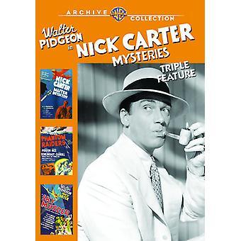 Nick Carter Geheimnisse Triple Feature [DVD] USA import
