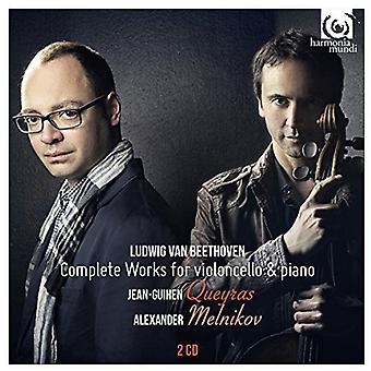 Beethoven / Queyras / Melnikov - Beethoven / Queyras / Melnikov: Complete Works for Cello & Piano [CD] USA import