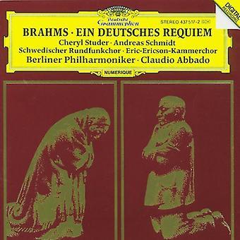 J. Brahms - Brahms: Ein Deutsches Requiem, Op.45 [CD] USA import