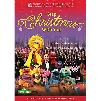 Mormon Tabernacle Choir / Orchestra Temple Square - Keep Christmas with You [DVD] USA import