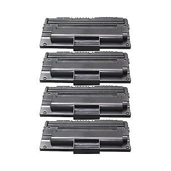 RudyTwos החלפת 4x עבור סמסונג D2082L היחידה טונר בשחור תואם עם SCX5635FN, SCX5635HN, SCX5638FN, SCX5835FN, SCX5835NX, SCX5935FN, SCX5935NX