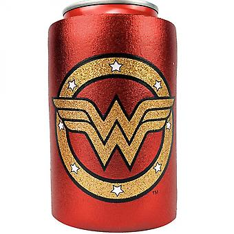 Wonder Woman Symbol Metallic Finish kan køle