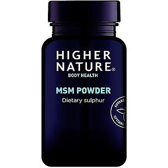 Higher Nature MSM Powder 200g (MSP200)