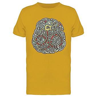 Tribal Celtic Viking Snake Tee Men's -Image di Shutterstock