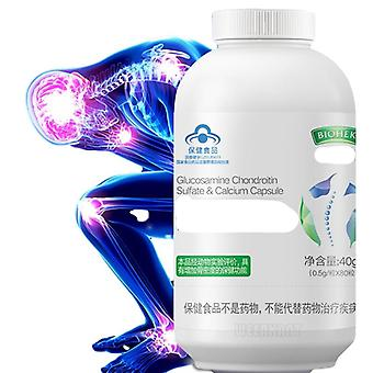 Natural 500mg Tablet Glucosamine Chondroitin Sulfate & Calcium Capsules for Knee Pain  Joint Pain
