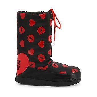Love Moschino - Schoenen - Boots - JA24092G18IQ_0000 - Dames - zwart,rood - EU 41-42