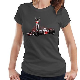 Motorsport Images Lewis Hamilton 2014 Wembley Women's T-Shirt