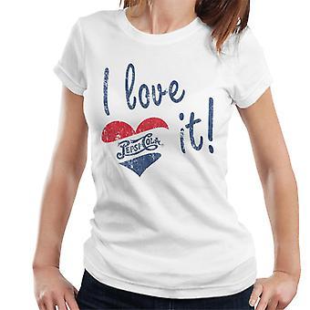 Pepsi Cola ik hou van het vrouwen ' s T-shirt