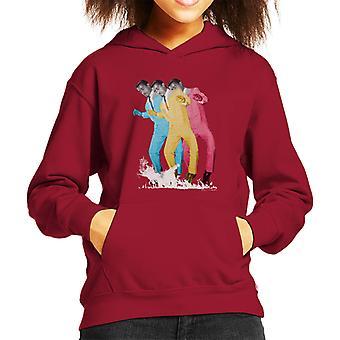 Sammy Davis Jr Pop Art Trio Kid's Hooded Sweatshirt