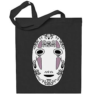 No Face Sugar Skull Studio Ghibli Spirited Away Totebag