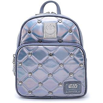 Loungefly Star Wars Hoth Empire Strikes Back 40Th Anniversary Iridescent Mini Backpack