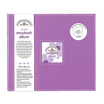 Doodlebug Design Lilas 12x12 Inch Storybook Album