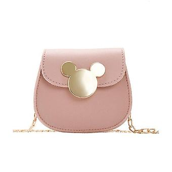 Disney Children's Shoulder Bag - Carino Cartone Cartoon Mickey Mouse Kindergarten Baby Girls Coin Purse