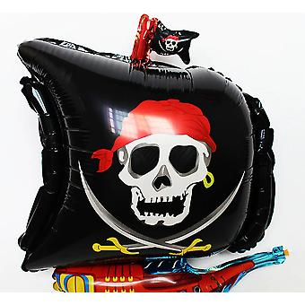 Aluminum Film Balloon Toy - Cartoon Animation Pirate Ship Straw Hat Luffy Toy