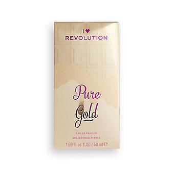 Makeup Revolution I Heart Revolution 50 ml Edp - Pure Gold