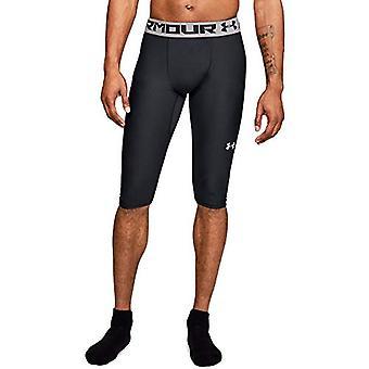 Armour miesten ' s lähtö taso polvi trikoot, musta (001)/valkoinen, X-Large