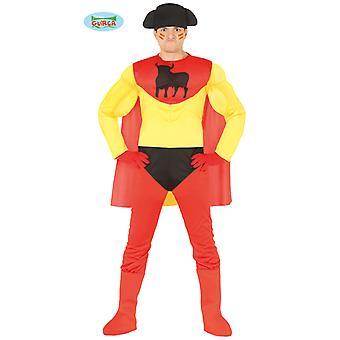 Super eroe Spagna Super torero torero costume adulto