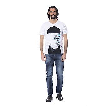 Frankie Morello Opticalwhite T-Shirt FR679431-XS