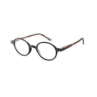 Leesbril Unisex Le-0189A Lennon bruin/zwarte dikte +1,50