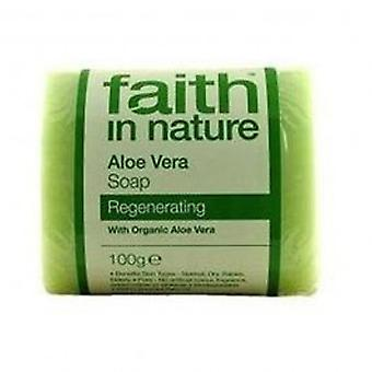 Faith In Nature - Aloe Vera Pure Veg Soap 100g